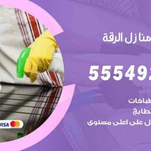 تنظيف منازل الرقة