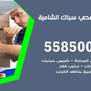 فني سباك صحي الشامية