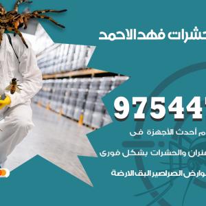 رقم مكافحة حشرات وقوارض فهد الاحمد